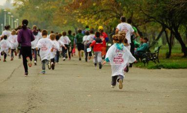 """Concurenți de toate vârstele au alergat la """"Crosul Tineretului"""""""