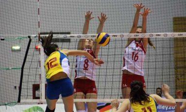 3 victorii pentru România în Liga Europeană de volei feminin