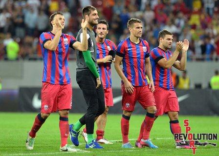Steaua, în turul trei preliminar al Ligii Campionilor