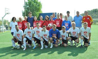 Campionii Cupei Coca-Cola s-au antrenat la baza sportivă a naţionalei de fotbal