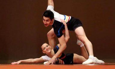 Două medalii de aur și două de argint pentru seniori la CE de gimnastică aerobică