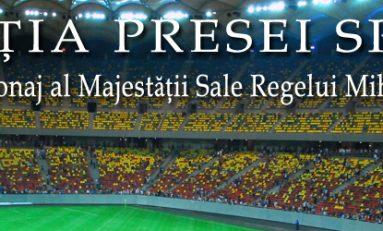 Ziaristii sportivi români, invitaţi la meciul România-Slovacia si la Adunarea Generală a APS