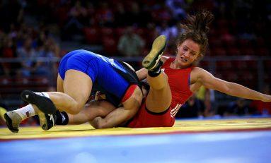 Alina Vuc, cea mai bună luptătoare a anului 2013