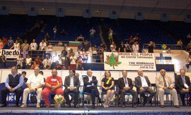 Nicolae Bănicioiu a participat la festivitatea de deschidere a CE de Taekwondo de la Sala Polivalentă