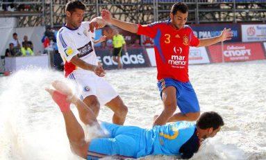 O nouă înfrângere usturătoare pentru naționala de fotbal de plajă