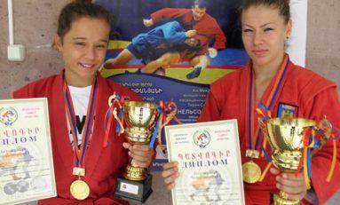 Două medalii de aur pentru România la Turneul Internațional de Sambo de la Erevan