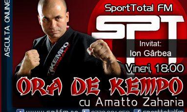 Ion Gârbea, invitatul emisiunii Ora de Kempo de la Sport Total FM