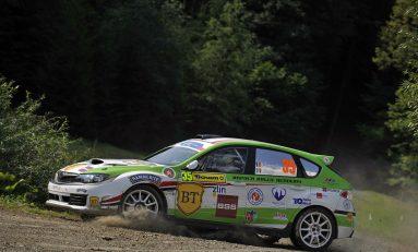 Napoca Rally Academy, lider pe echipe în ERC Production Cup