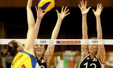 Locul 4 pentru voleibalistele românce în Liga Europeană