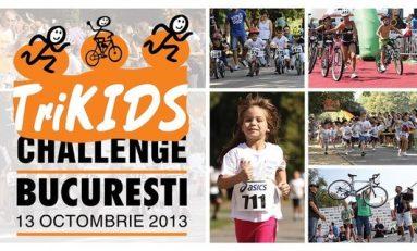 Trikids Bucureşti, o zi de sport şi mişcare pentru copii