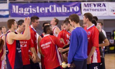 CSM Oradea, lider provizoriu în Liga Națională de baschet