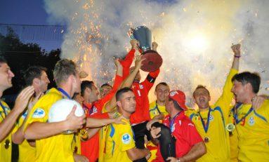 România a câștigat Campionatul European de minifotbal a patra oară consecutiv