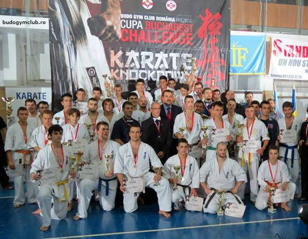 Bucharest Challenge Cup, o competiţie de karate full-contact organizată impecabil