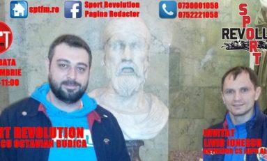 """Liviu Ionescu, invitatul emisiunii """"Sport Revolution"""" de sâmbătă"""