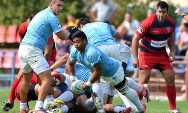Ştiinţa Baia Mare este liderul turului în SuperLiga de rugby