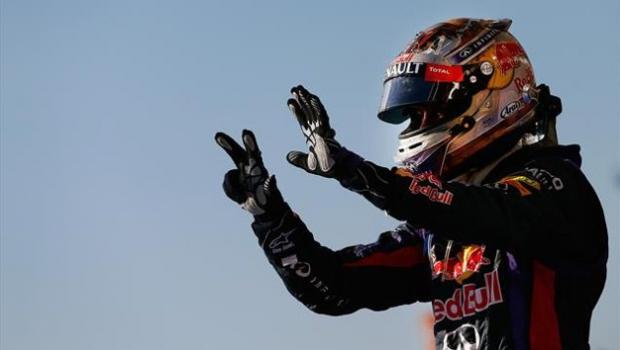 Sebastian Vettel a ajuns la 8 victorii consecutive într-un singur sezon de Formula 1