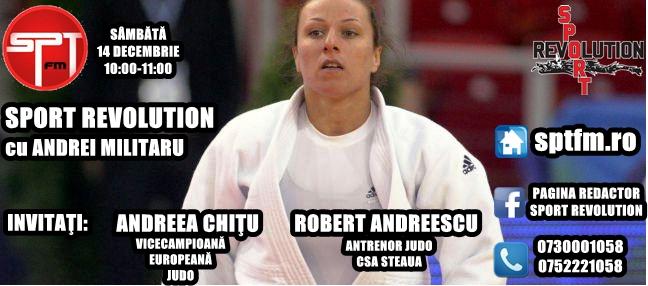 """Emisiune """"Sport Revolution"""" dedicată judo-ului românesc"""