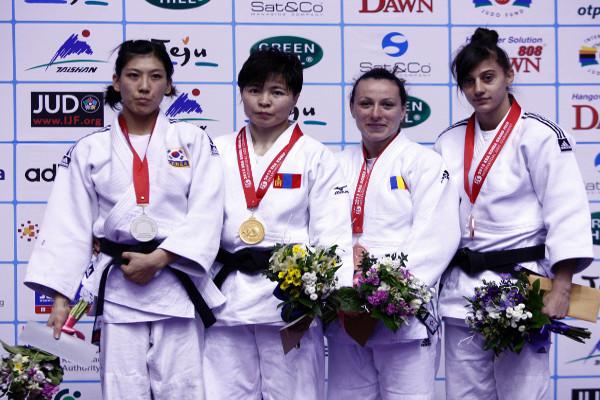Trei medalii românești la Grand Prix-ul de Judo de la Jeju