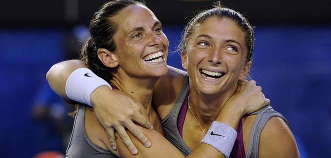 Australian Open / Errani și Vinci, din nou campioane la dublu feminin