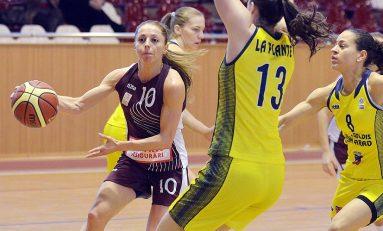Florina Diaconu, cea mai bună marcatoare a Rapidului în ultimele două etape de campionat