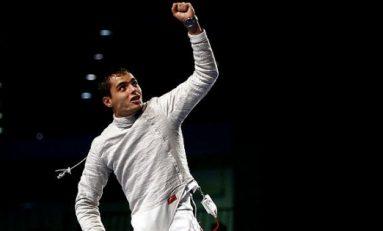 Tiberiu Dolniceanu, medaliat cu bronz la Grand Prix-ul de sabie de la Plovdiv