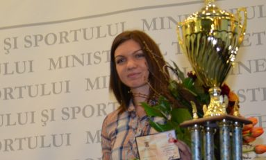 Simona Halep a primit titlul de maestru emerit al sportului
