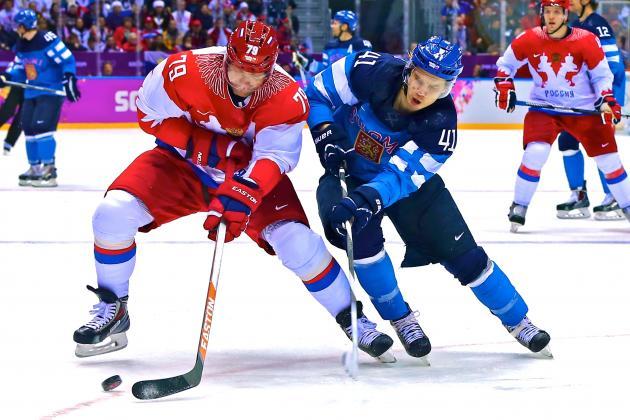 J.O. de la Soci / Rusia părăseşte turneul de hochei