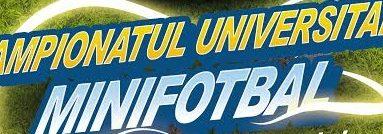 Suspans în grupa B a Campionatului Universitar de Minifotbal