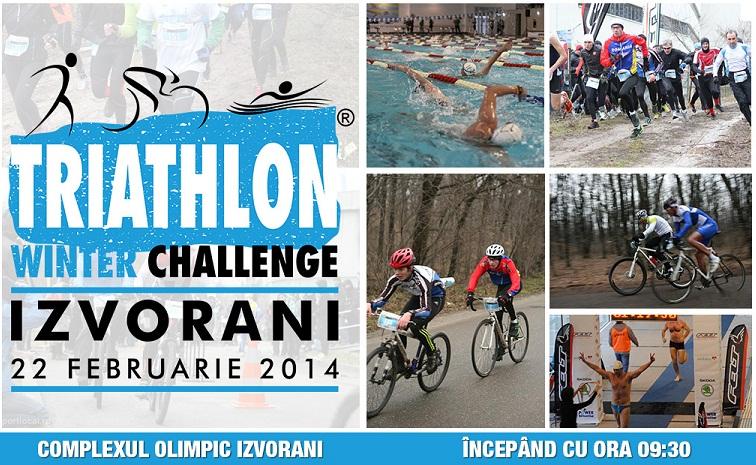 Peste 500 de participanţi iau startul la primul triatlon al anului