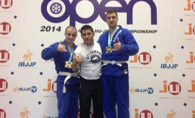 Elevii lui Mircea Cubleșan, medaliați la Open-ul de BJJ de la Munchen