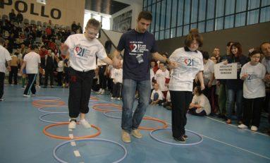 E ziua lor! Copiii cu sindromul Down se întrec la Centrul Sportiv Apollo