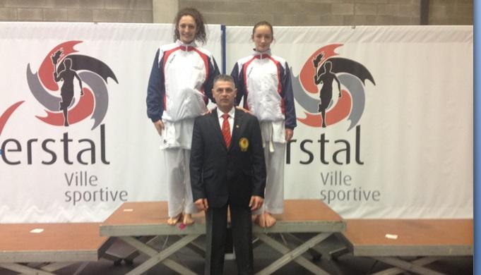 Sportivii FRK WKC au venit cu medalii de la Open-ul din Herstal