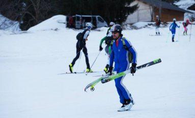 Ciprian Lolu duce tricolorul în Alpi