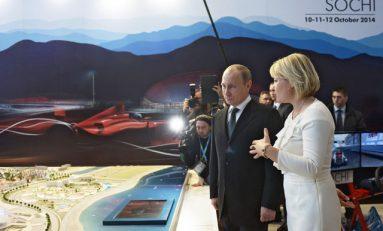 Putin spune că pregătirile pentru Grand Prix-ul de Formula 1 de la Soci sunt în toi