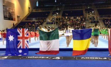 Micile gimnaste române au cucerit argintul la Trofeul Jesolo