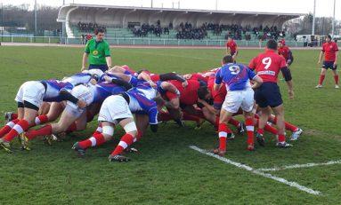 Roş-albaştrii, învinşi de selecţionata armatei franceze la rugby