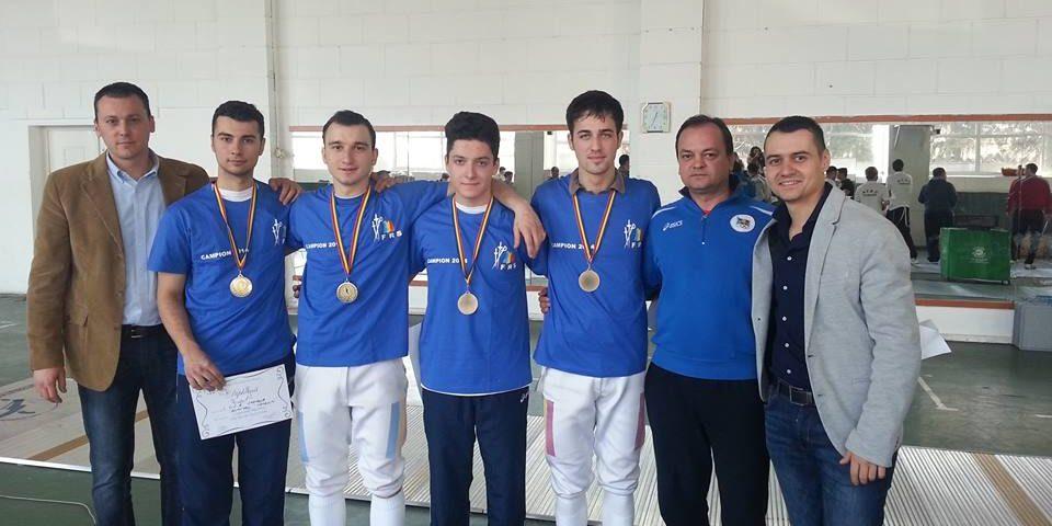 Tinerii sabreri ai Stelei sunt campioni naţionali!