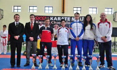 Rezultate meritorii obţinute de lotul naţional de karate WKC la o competiţie internaţională