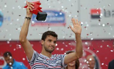 Grigor Dimitrov și-a respectat statutul de favorit: a câștigat BRD Năstase Țiriac Trophy