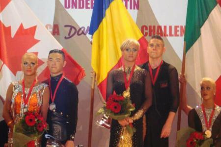 Cristina Tătar şi Paul Moldovan au câştigat titlul mondial U-21 Latin la dans sportiv