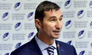 Alin Petrache a demisionat din funcția de președinte al Federației Române de Rugby