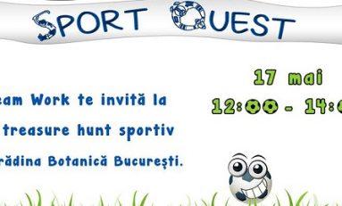 Sport Quest: Asociaţia Team Work dă liber la mişcare şi concurs!