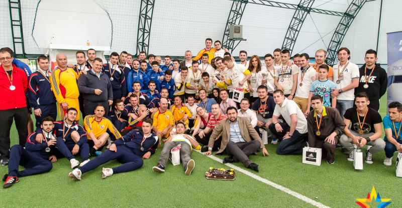 Universitatea Politehnica București e noua campioană universitară la minifotbal