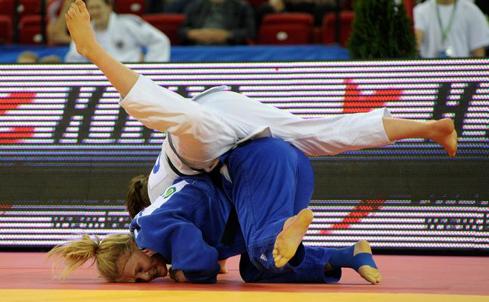 Violeta Dumitru şi Vlad Simionescu au luat bronzul la Cupa Europeană de Judo din Slovenia