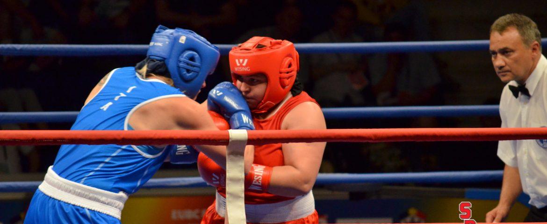 Luminița Turcin și Simona Sitar, medaliate cu bronz la CE de box feminin de la București