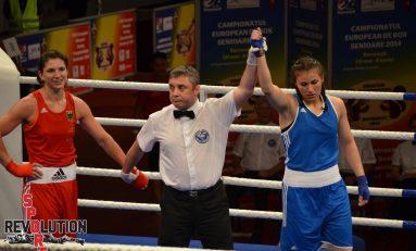 Rezultate bune pentru românce în prima zi a Campionatului European de box feminin