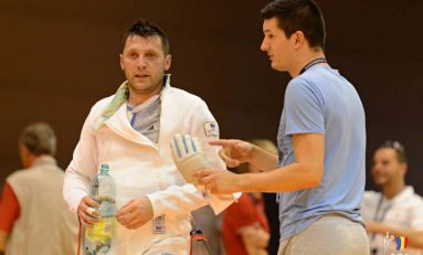 Echipa masculină de spadă României, eliminată în optimile CE scrimă
