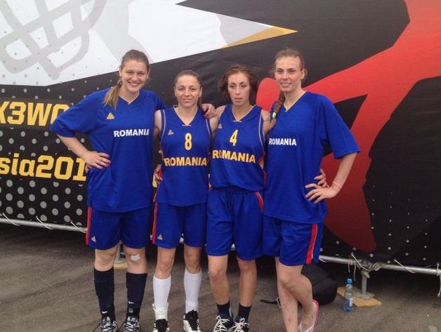 România s-a calificat în sferturile CM de baschet 3X3, la feminin și masculin