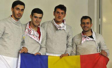 Echipa masculină de sabie a României, locul 5 la CE de scrimă