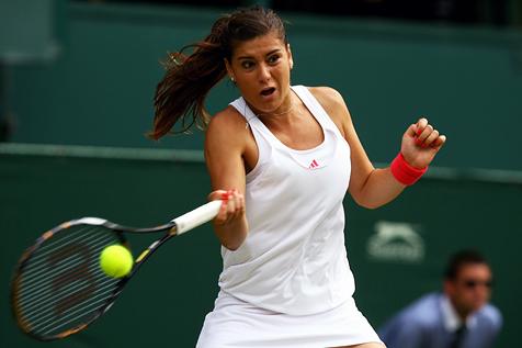 Tenis: Cîrstea şi Cadanţu, out de la Wimbledon. Doar Halep şi Begu s-au calificat mai departe